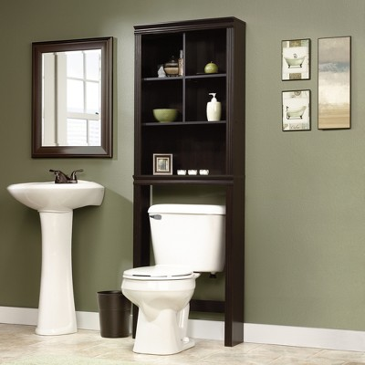 Over The Toilet Etagere Espresso Brown - Sauder