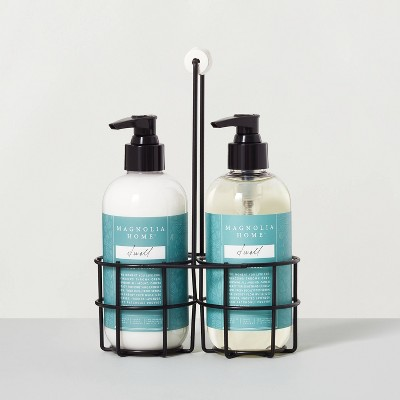 Hand Soap + Lotion Caddy Set Dwell - Magnolia Home by Joanna Gaines