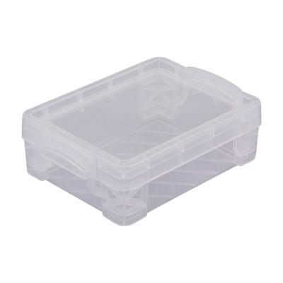 Advantus Super Stacker Desk Organizer Box   Clear by Clear