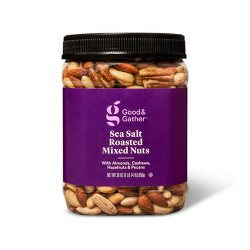 Sea Salt Roasted Mixed Nuts - 30oz - Good & Gather™