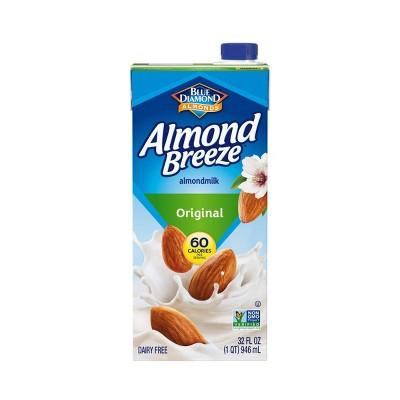 Blue Diamond Almond Breeze Original Almond Milk - 32 fl oz
