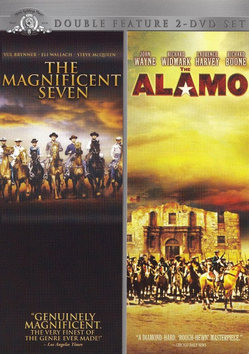 The Magnificent Seven/The Alamo (2 Discs) (dvd_video) - image 1 of 1