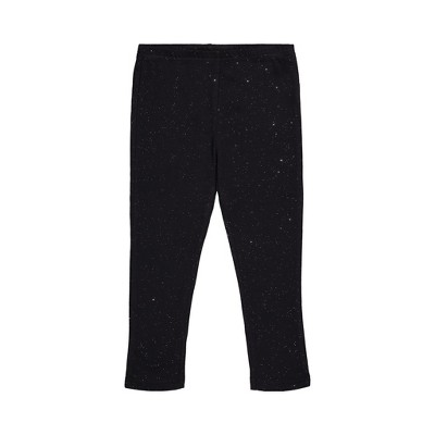 Andy & Evan  Toddler  Black Sparkle Legging