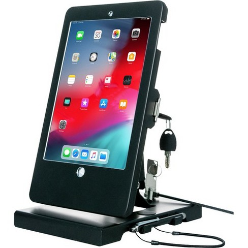 "CTA Digital Flat-Folding Tabletop Security Stand - Up to 9.7"" Screen Support - 10"" Height x 8.3"" Width x 7.3"" Depth - image 1 of 4"