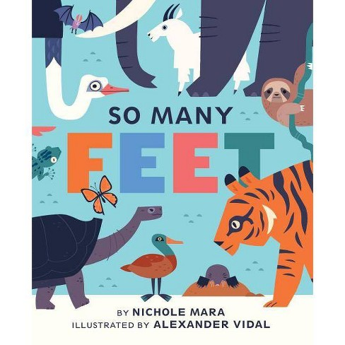 So Many Feet - by  Nichole Mara (Board_book) - image 1 of 1