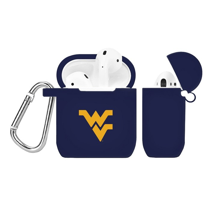 NCAA West Virginia Mountaineers Silicone Cover for Apple AirPod Battery Case - image 1 of 1