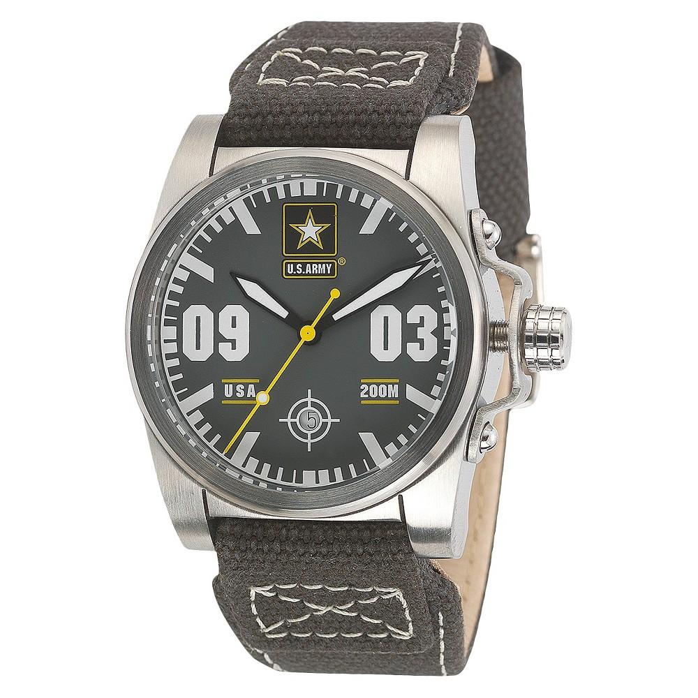 Men's' Wrist Armor U.S. Army C1 Swiss Quartz Watch - Gray, Size: Small