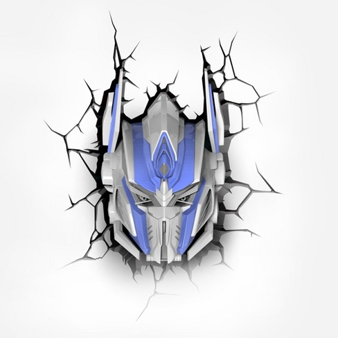 Transformers 3D Wall Night LED Light - Optimus Prime - image 1 of 3