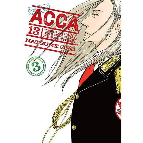 Acca 13-Territory Inspection Department, Vol. 3 - by  Natsume Ono (Paperback) - image 1 of 1