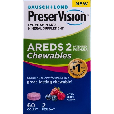 Multivitamins: PreserVision AREDS 2 Chewables