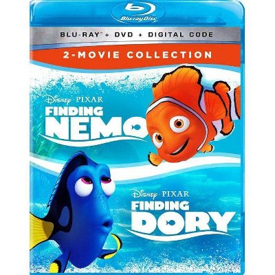 Finding Nemo & Finding Dory: 2-Movie Collection (Blu-ray + DVD + Digital)