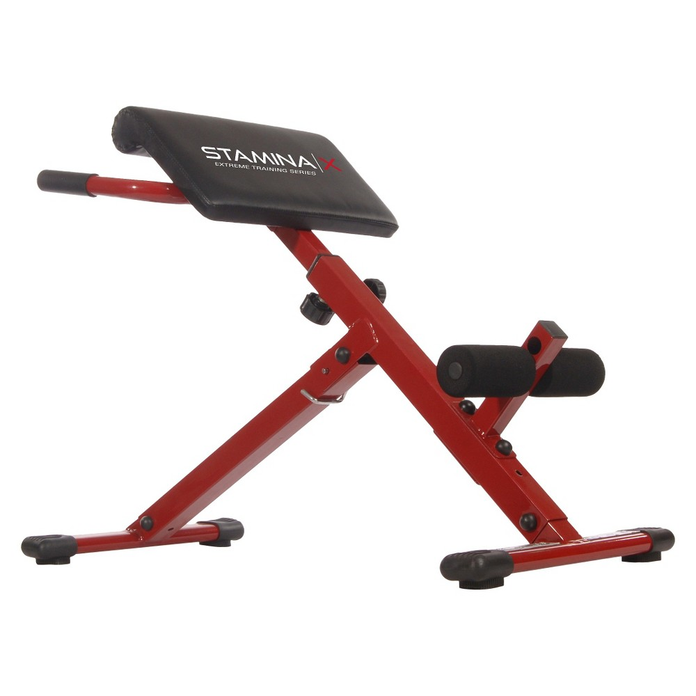 Stamina X Hyper Bench, Red/Black