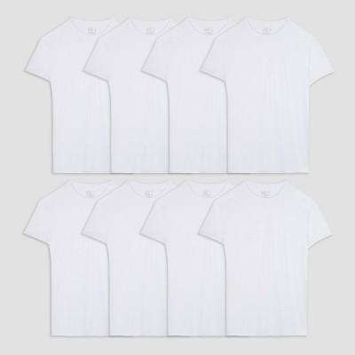 Fruit of the Loom Men's Crew Neck Undershirt - White