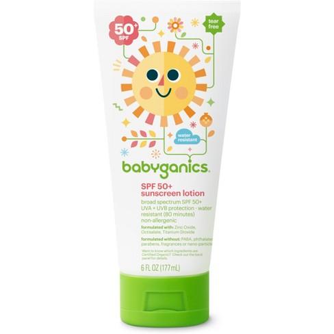 Babyganics Mineral-Based Baby Sunscreen Lotion, SPF 50 - 6oz - image 1 of 3