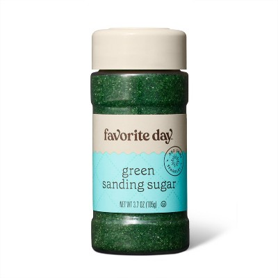 Green Sanding Sugar - 3.7oz - Favorite Day™