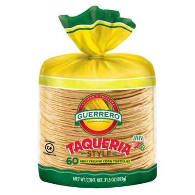Guierrero Taqueria Style Yellow Corn Tortillas - 31.5oz/60ct