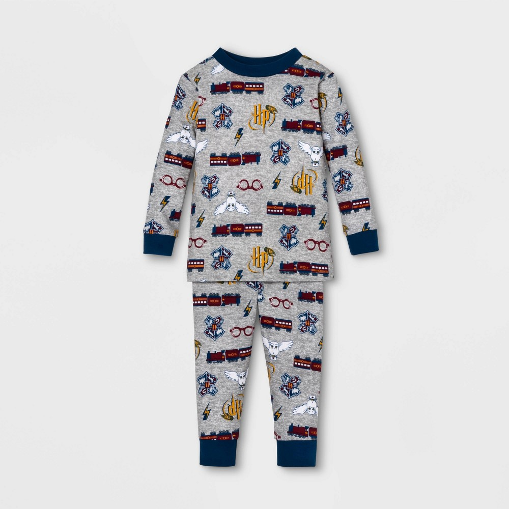 Toddler Harry Potter Family Pajama Set - Gray 3T, Men's was $12.99 now $9.09 (30.0% off)
