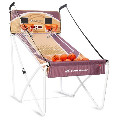 E-Jet Sports Online Bluetooth Arcade Basketball Game Set