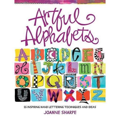Artful Alphabets - by  Joanne Sharpe (Paperback) - image 1 of 1