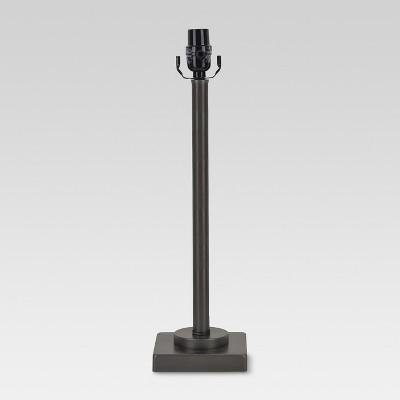 Column Lamp Base Large - Dark Pewter - Threshold™
