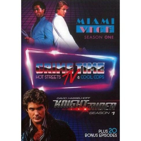 Crime Time Tv:Miami Vice And Knight R (DVD) - image 1 of 1