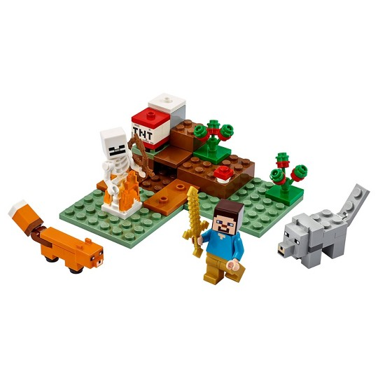 LEGO Minecraft The Taiga Adventure Building Toy 21162 image number null