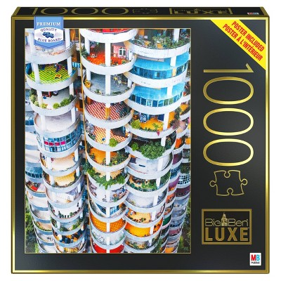 Milton Bradley Big Ben Luxe: Apartment Building in Guiyang, China Jigsaw Puzzle - 1000pc