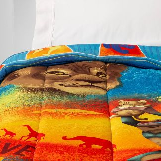 The Lion King Twin Comforter Blue