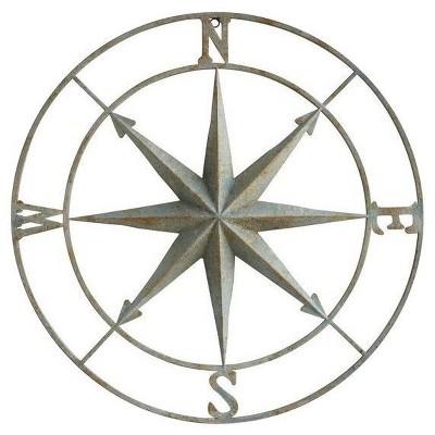Iron Compass Aquacolor Plaque - 3R Studios