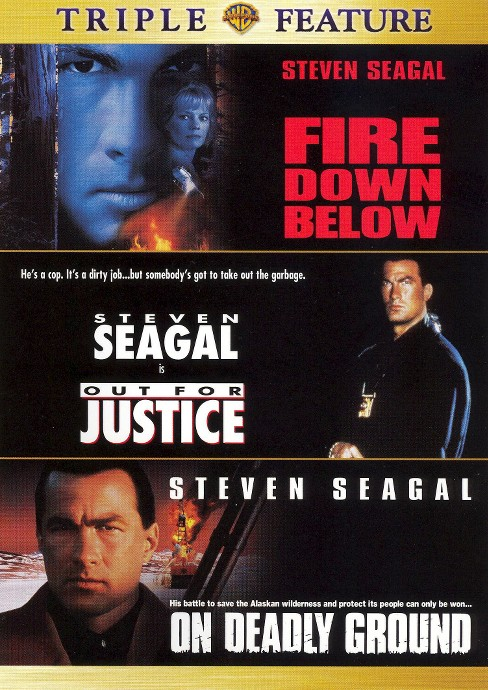 Fire down below/Out for justice/On de (DVD) - image 1 of 1