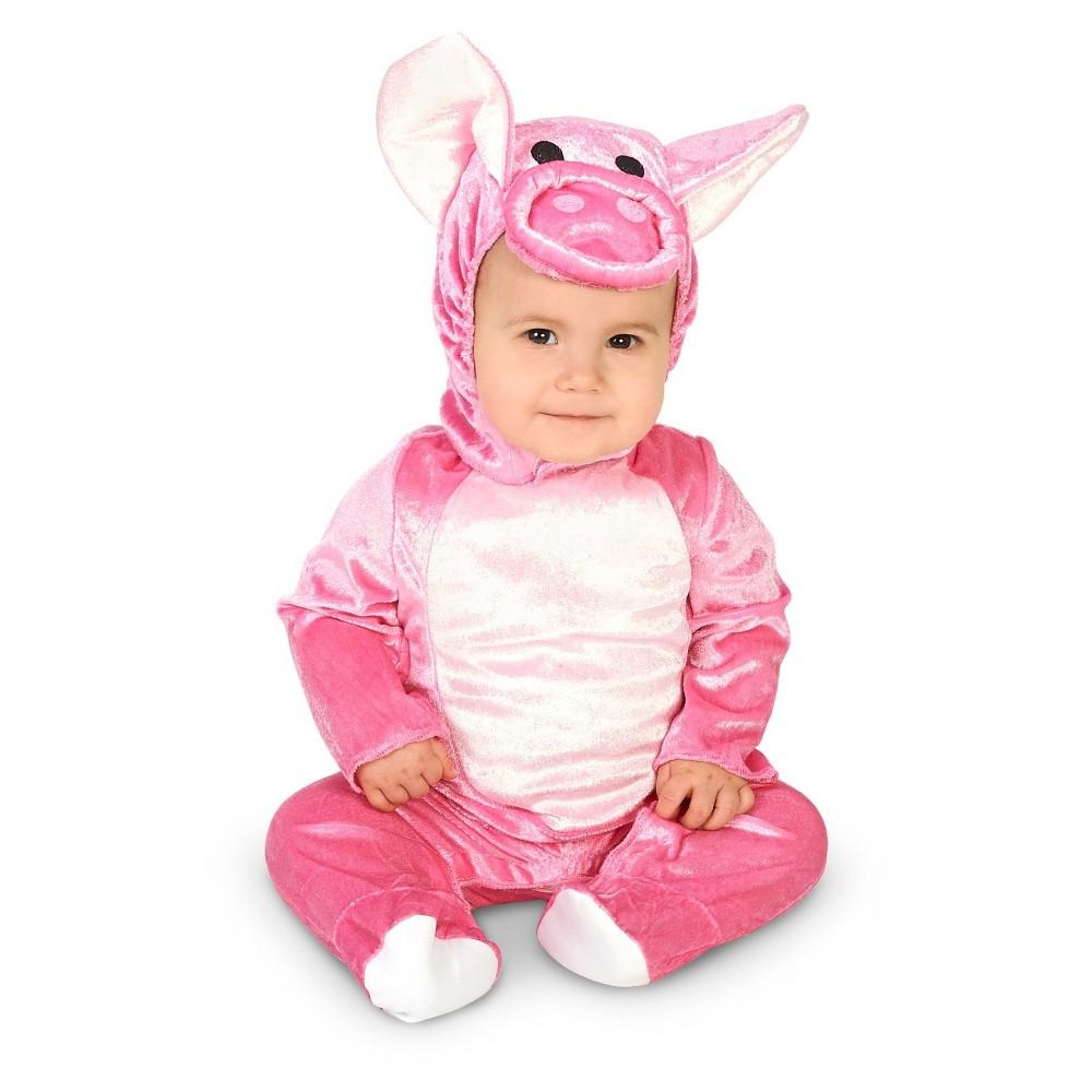Piggy Baby Costume - (6-12 Months), Infant Unisex, Size: 6-12M, Pink