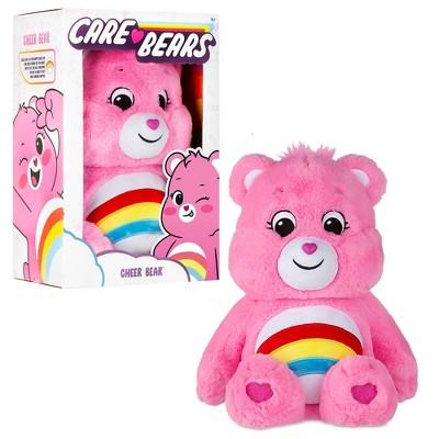 "Care Bears Cheer Bear 14"" Medium Plush Stuffed Animal"