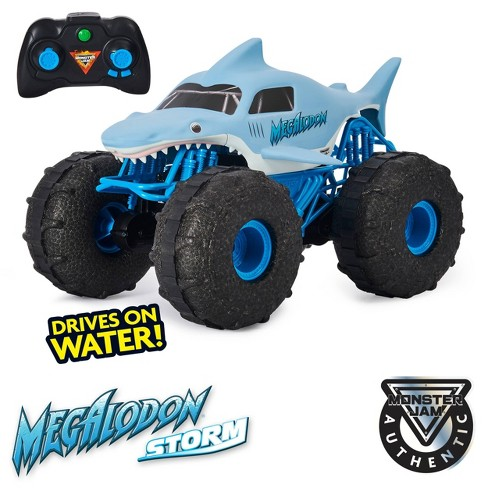 Monster Jam Official Megalodon Storm All-Terrain Remote Control Monster Truck - 1:15 Scale - image 1 of 4