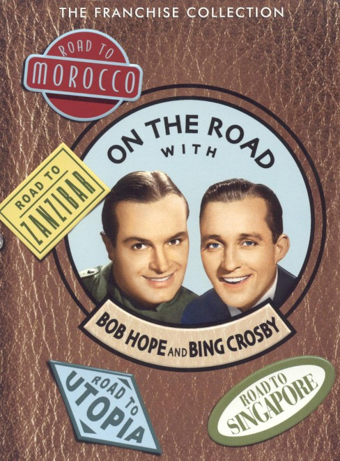 On the Road with Bob Hope and Bing Crosby: The Franchise Collection - image 1 of 1