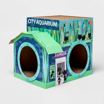 City Aquarium Cat Scratcher - Boots & Barkley™