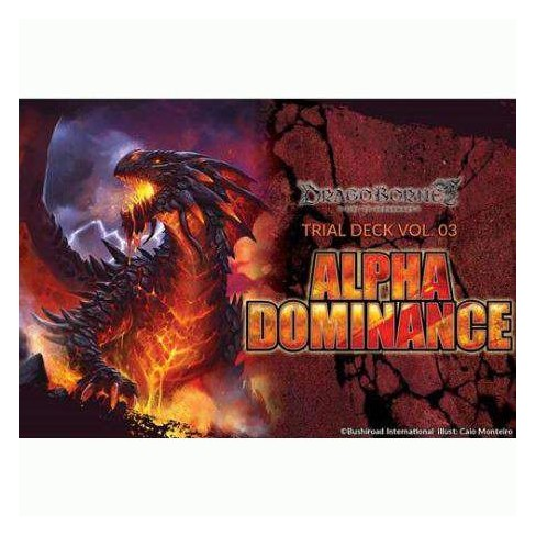 Dragoborne Rise to Supremacy Vol. 03 Alpha Dominance Trial Deck [Sealed] - image 1 of 1
