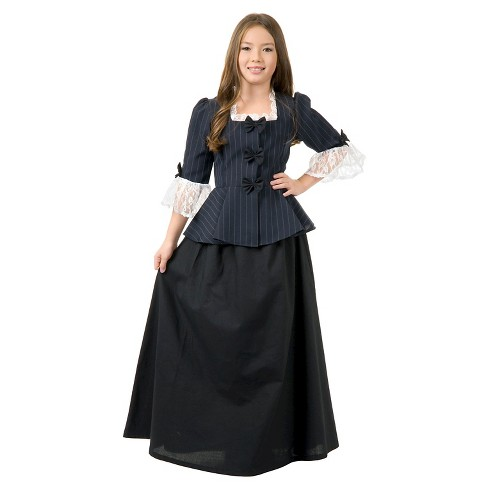 Girls' Colonial Costume - image 1 of 1