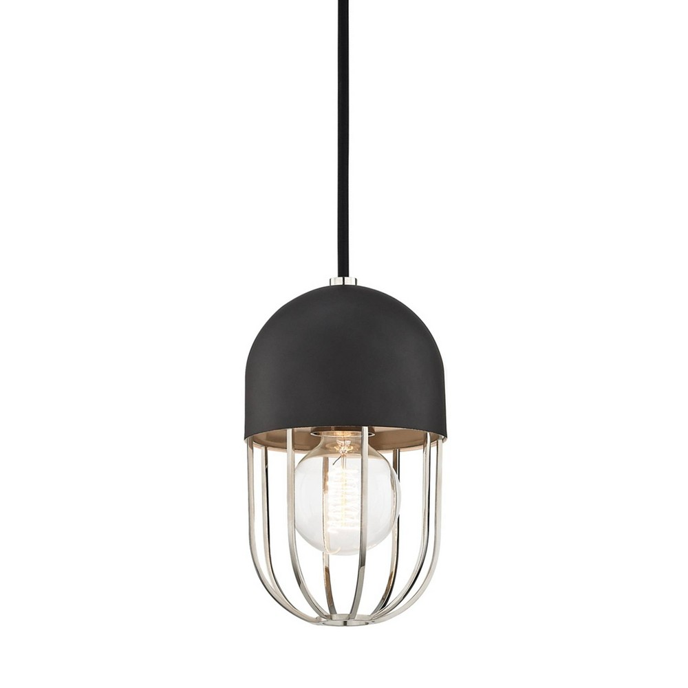 Haley 1-Light Pendant Chandelier Brushed Nickel - Mitzi by Hudson Valley Price