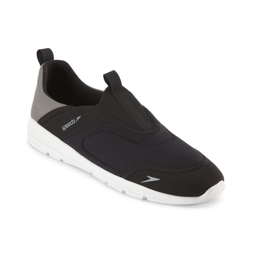 Speedo Adult Men's Aquaskimmer Water Shoes - Black (Small)