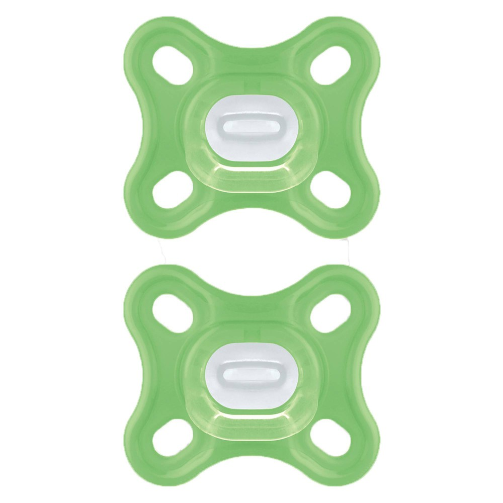 Image of MAM Comfort Pacifier 0 to 4m - 2pk