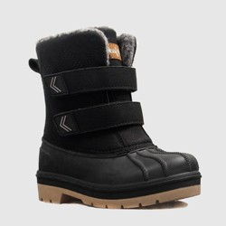 Toddler Boys' King Winter Boots - Cat & Jack™ Black