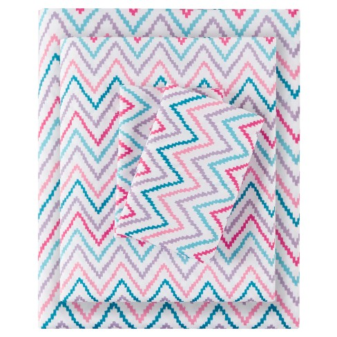 Double-Sided Chevron Printed Sheet Sets - image 1 of 6