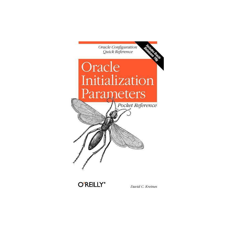 Oracle Initialization Parameters Pocket Reference - (Pocket Reference (O'Reilly)) by David C Kreines Oracle designed its database products to be flexible and configurable so they would operate on a variety of hardware platforms, and they succeeded--Oracle software runs on more than seventy computer platforms, from mainframes to PC networks to handheld PDAs. The secret to this flexibility lies in the software's initialization parameters, whose numerous settings can be configured for top performance in countless environments. On the downside, however, improper settings can slow a system down; even grind it to a halt. And with so many parameters--which change from version to version of Oracle software--it's challenging for Oracle administrators to keep in mind the characteristics and optimal settings for each parameter. The Oracle Initialization Parameters Pocket Reference provides the crucial information you need to make key adjustments to your Oracle database. This concise guide is a mix of invaluable performance tips and a quick reference to Oracle's initialization parameters. The book describes each initialization parameter, indicates what category it's in--from auditing to multi-threaded server Mts--and whether it can be modified dynamically via the Alter Session or Alter System command. In addition to the details about parameter characteristics and settings, you'll find performance tips, such as how the various parameters interact, and what the most advantageous settings are for different configurations. No other reference focuses exclusively on these initialization parameters--an absolute must for anyone working with an Oracle database. Presented in a handy, easy-to-use format, the Oracle Initialization Parameters Pocket Reference is a welcome alternative for anyone who's struggled to memorize the best configuration settings or gone back and forth to online resources, trying to figure out what works. O'Reilly's Pocket References put the information you need close at hand where you need it most. This guide will keep your Oracle databases operating at peak performance.