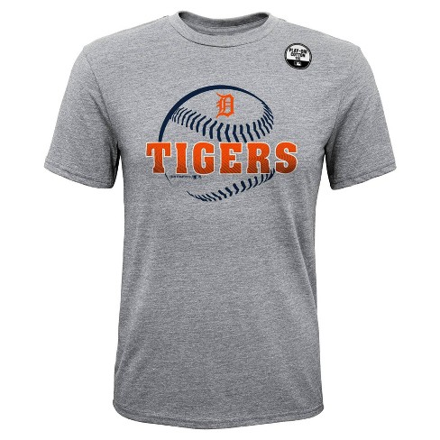 the latest 693f5 86e92 MLB Detroit Tigers Boys' Gray Athleisure T-Shirt