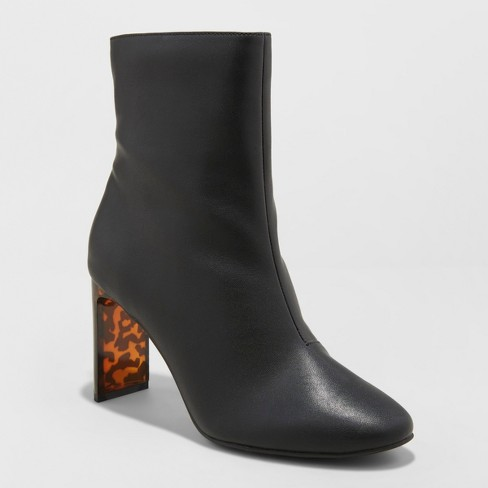 Women's Chelsea Heeled Fashion Boots - A New Day™ - image 1 of 3