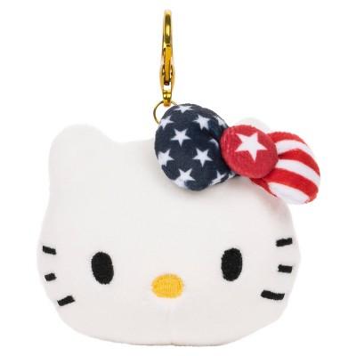 GUND Hello Kitty Team USA Backpack Clip