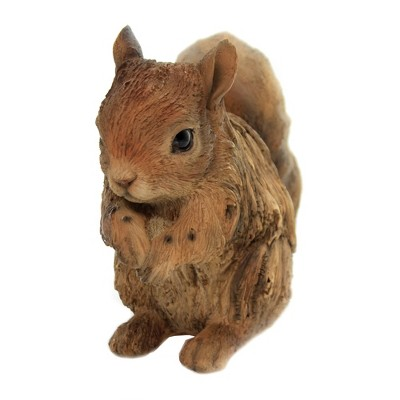 """Animal 6.0"""" Driftwood Squirrel Figurine Wildlife Forest Pacific Trading  -  Decorative Figurines"""