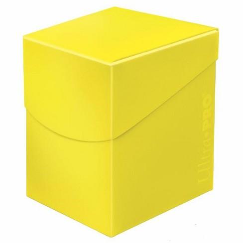Ultra PRO Standard Eclipse Pro 100+ Deck Box - Lemon Yellow - image 1 of 1