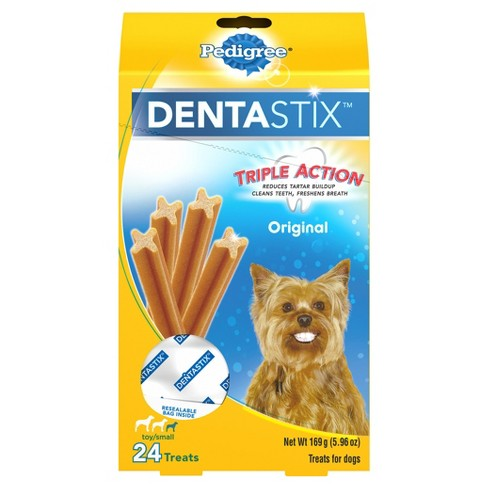 Pedigree Dentastix Original Toy/Small Treats for Dogs Value Pack - image 1 of 4