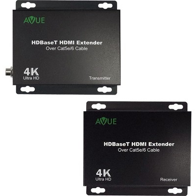 Avue HDMI-EX250, AVUE 4K HDBaseT HDMI Extender, up to 250ft. for 1080P/ 150ft. for 4K - 1 Input Device - 1 Output Device - 250 ft Range